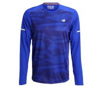 Langarmshirt marine blue
