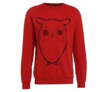 BIG OWL - Sweatshirt - pompeain red