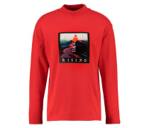 VOLCANO - Sweatshirt - red
