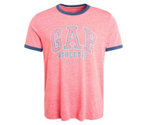 ARCH RINGER - T-Shirt print - red heather