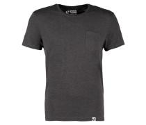 TShirt basic dark grey melange