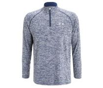 Langarmshirt blau/grau