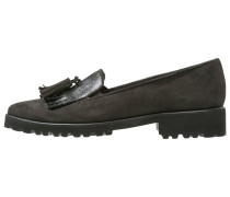GLORY Slipper antracite/black