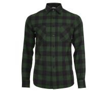 Hemd black/forest