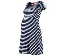 LOLA Jerseykleid navy blue/off white