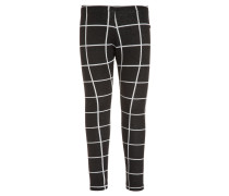 Leggings Hosen square black/white