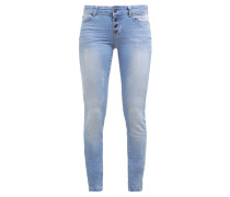 OBJSKINNY SALLY Jeans Skinny Fit light blue denim