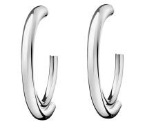 ELLIPSE - Ohrringe - silver-colored