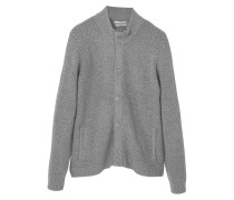 MARIO Strickjacke medium heather grey