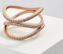 BRILLIANCE - Ring - rose gold-coloured