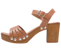 PAMMY Plateausandalette brown