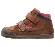 Sneaker high marrone
