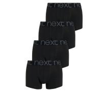 4 PACK Panties black