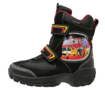 FIRE - Snowboot / Winterstiefel - schwarz/rot/gelb