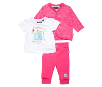 SET - T-Shirt print - pink