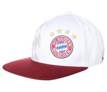 FC BAYERN MÜNCHEN Cap white/collegiate burgundy