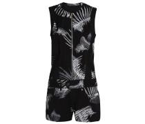 GStar LYNN SHORT BOILERSUIT S/LESS Jumpsuit black/milk