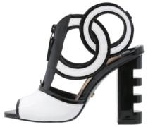 HEIDI High Heel Sandaletten black/white