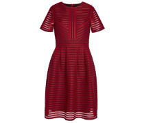Cocktailkleid / festliches Kleid cranberry/black