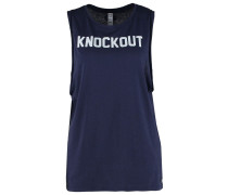 KNOCKOUT Funktionsshirt midnight navy
