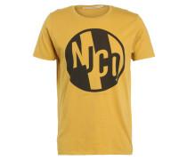 ANDERS - T-Shirt print - royal yellow