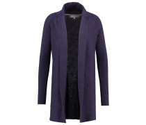 Strickjacke - dark blue melange