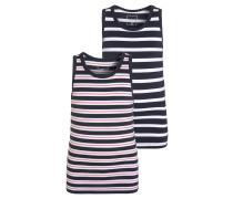 NITTANK 2 PACK Unterhemd / Shirt dress blues