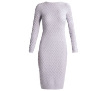 2IN1 Strickkleid pale grey