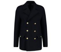 Wollmantel / klassischer Mantel blue navy