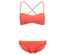 DETACH Bikini hot coral