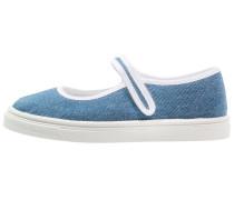Riemchenballerina blue