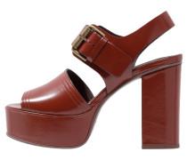 TARA - High Heel Sandaletten - mattone