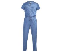 Jumpsuit - mid blue denim