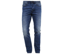 Jeans Straight Leg green cast