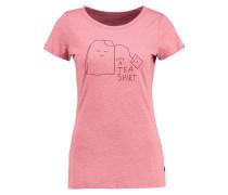 COLUMBIA - T-Shirt print - light red melange
