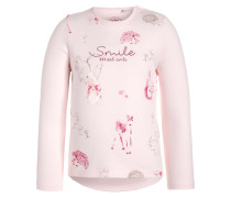 FOREST FRIENDS Langarmshirt shadow rose