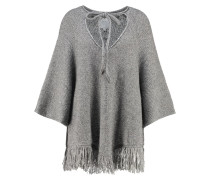 EVANNA Strickpullover medium grey melange