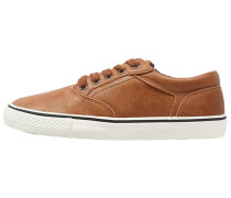 Sneaker low light brown/dark brown