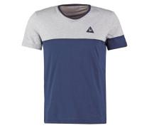MERRELA TShirt print light heather grey/dress blues