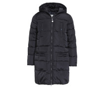 Wintermantel jet black