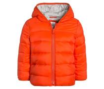 Winterjacke lava orange