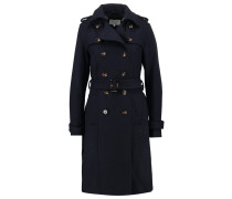 Trenchcoat navy blazer