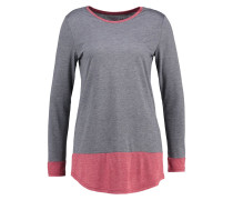 Langarmshirt - red/dark grey
