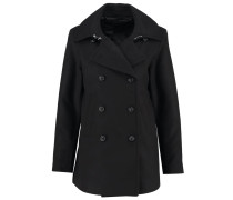 HIRA Wollmantel / klassischer Mantel black