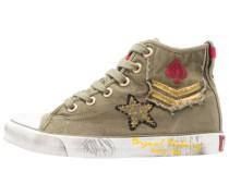 Sneaker high - khaki