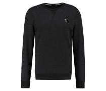 MUSCLE FIT - Sweatshirt - black
