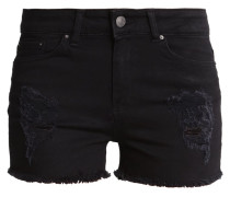 CANNON Jeans Shorts anthracite