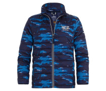 LOGBOOK WAVE Winterjacke navy