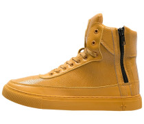 PYTHON MID Sneaker high yellow