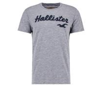 T-Shirt print - grey tech logo
